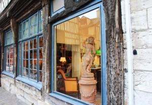 Quartier des antiquaires Rouen