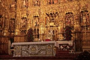 Autel de la cathédrale de Séville