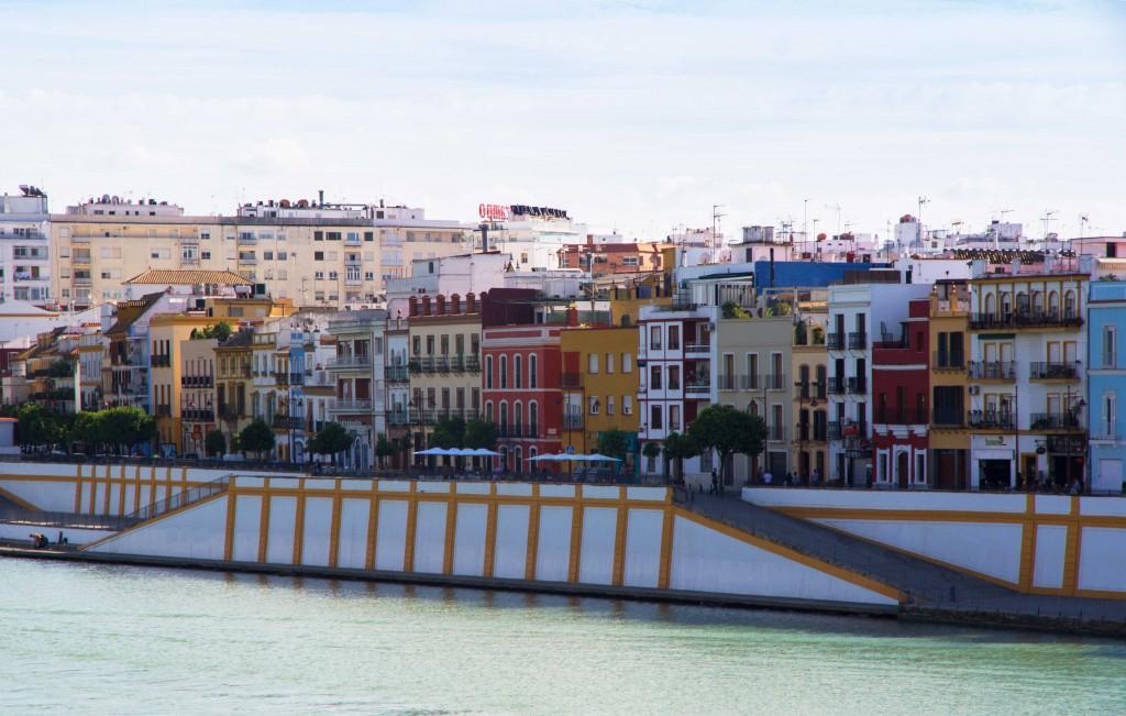 Calle Betis à Séville