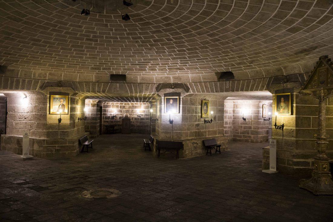 Crypte de la Cathédrale de Cadix