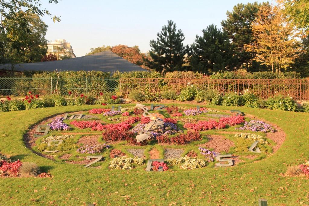 Horloge florale jardin d'acclimatation