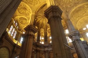 Intérieur cathédrale Malaga