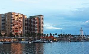 Muelle Umo (port Malaga)