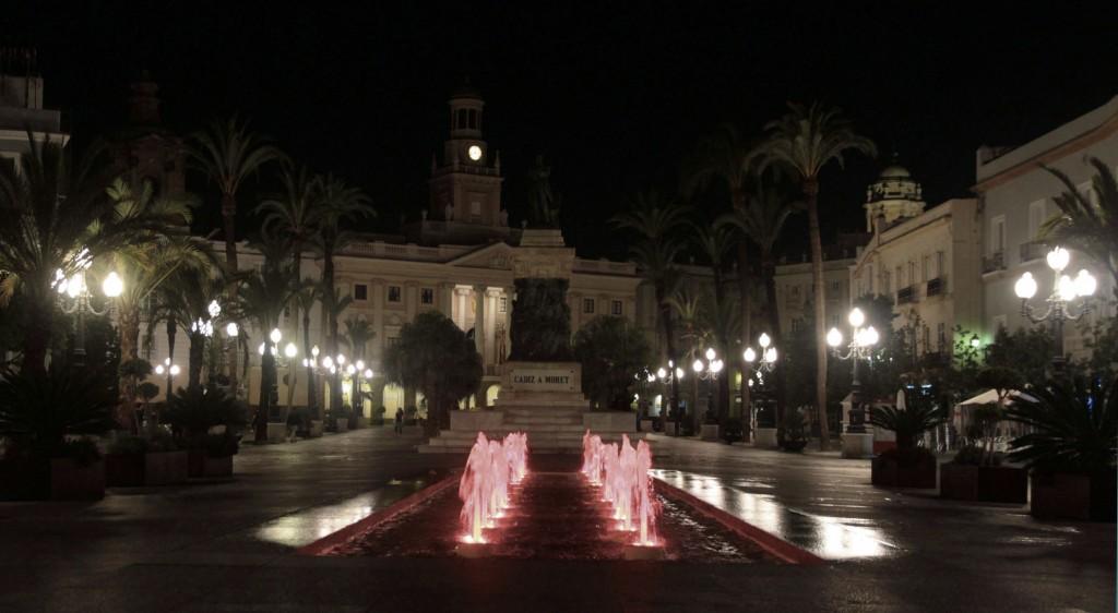 Place San Juan de dios à Cadix