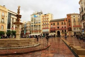 Place de la Coanstitucion Malaga