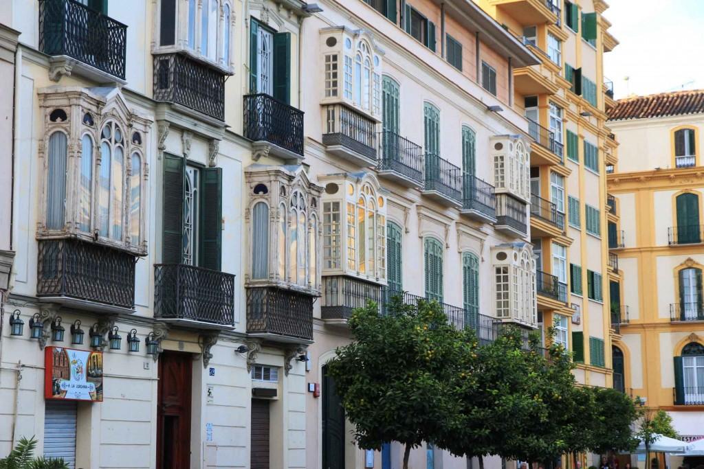 Place de la Merced à Malaga