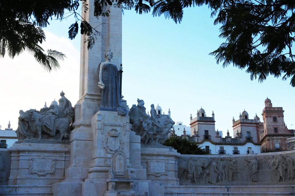 Place d'Espagne à Cadix