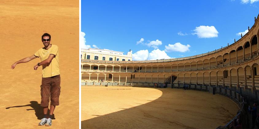 Plaza de toros à Ronda