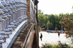 Pont Plaza de Espana à Séville