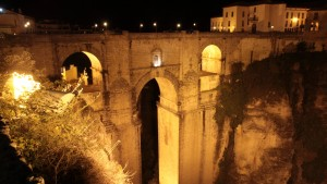Pont de Ronda de nuit (Puente Nuevo)