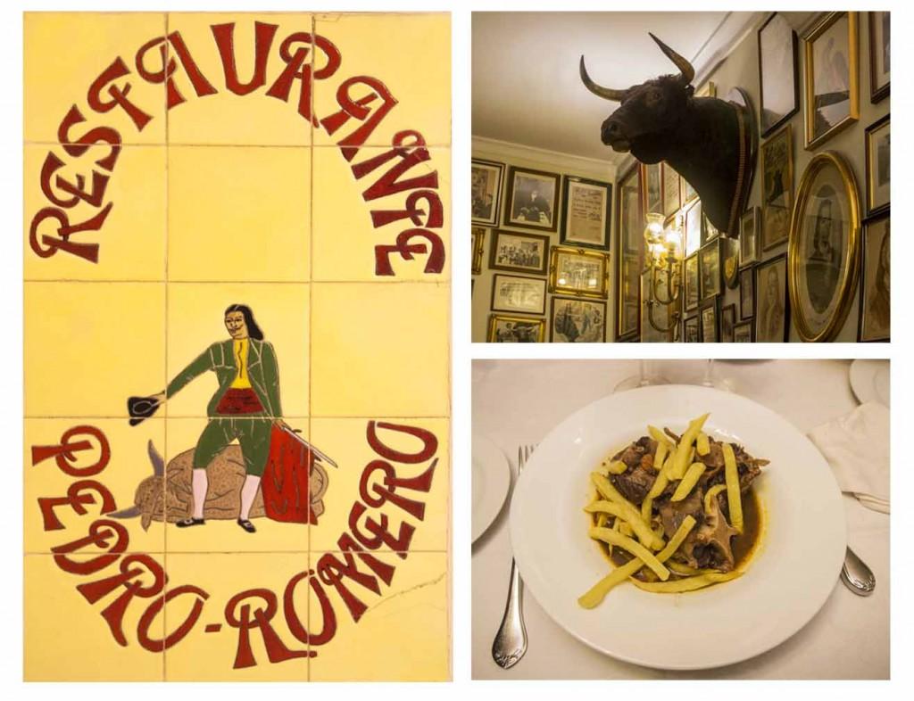 Restaurant Pedro Romero à Ronda