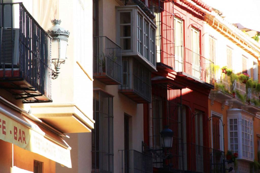 Rue colorées de Malaga