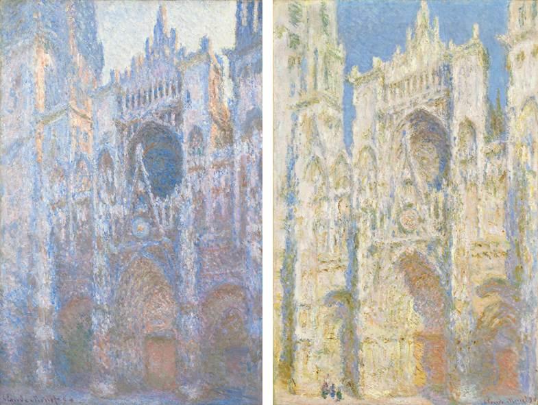 Série des Cathédrales de Claude Monet