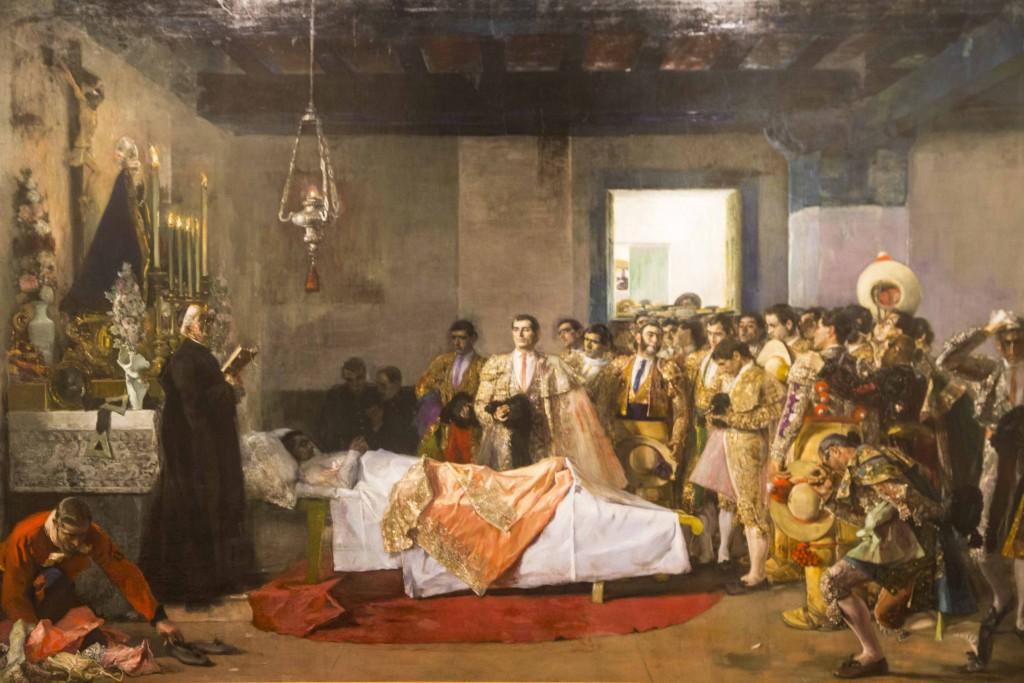 La muerte del maestro