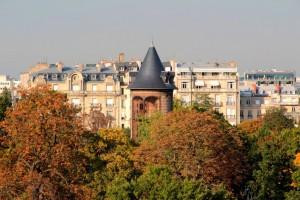 Vue sur Neuilly de la Fondation LV