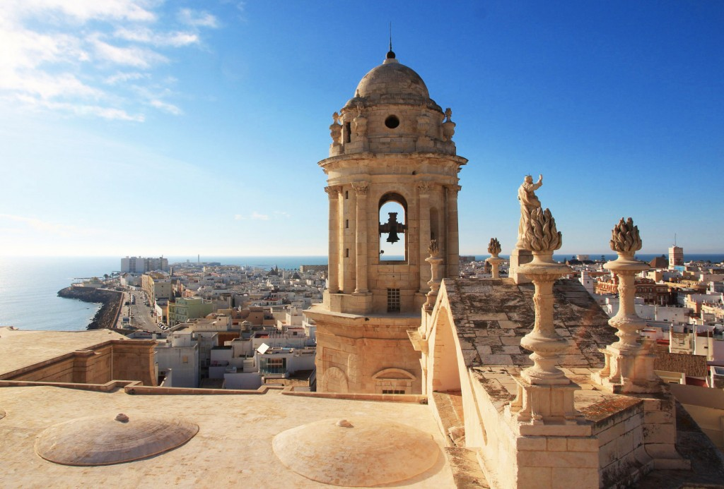 Panorama sur Cadix