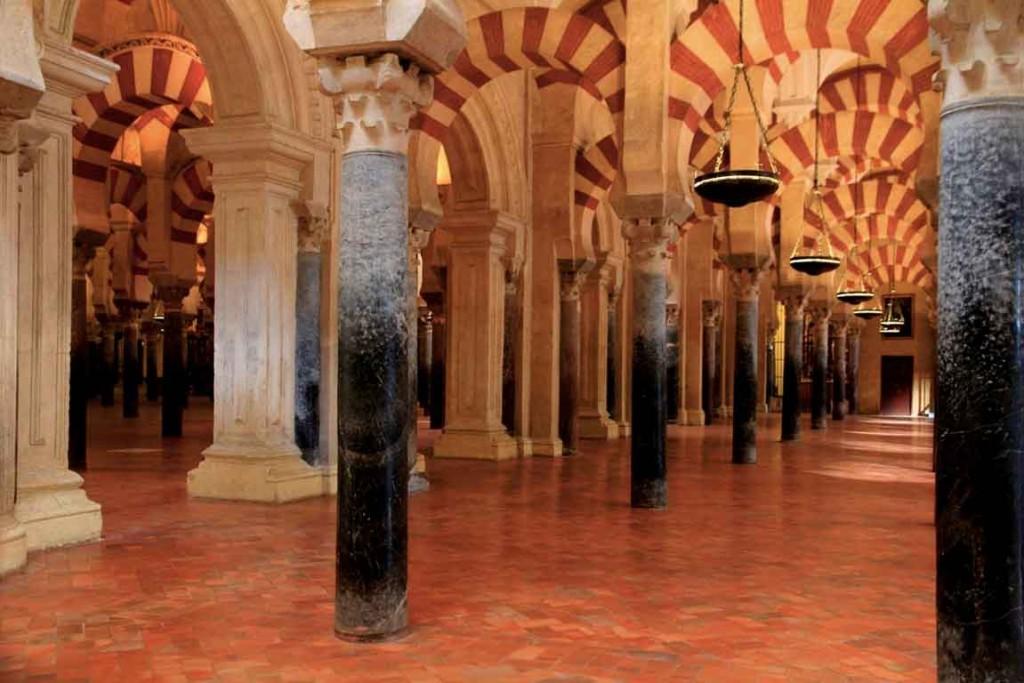 Colonnes mosquée de Cordoue