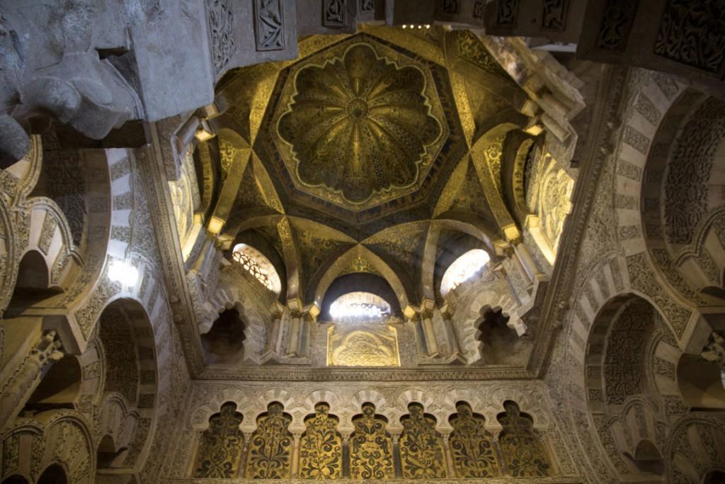 Dôme de la mosquée de Cordoue