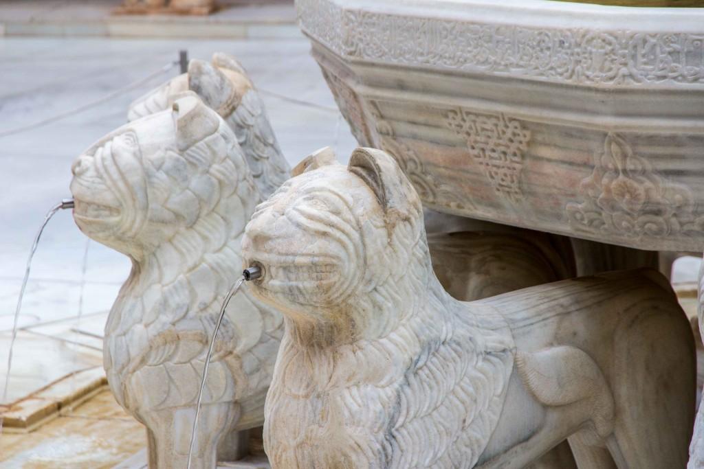 Fontaine aux 12 lions de l'Alhambra