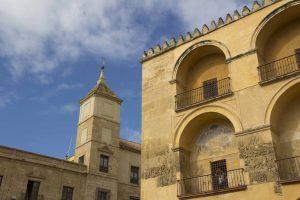 Façade de la mosquée de Cordoue