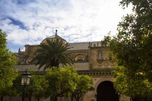 Patio de la mosquée de Cordoue