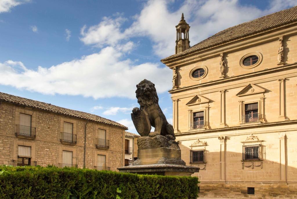Plaza Vazquez de Molina à Ubeda