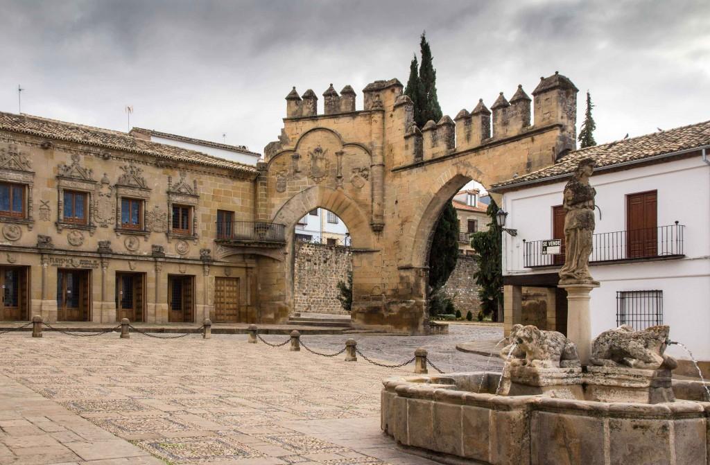 Plaza del populo à Baeza