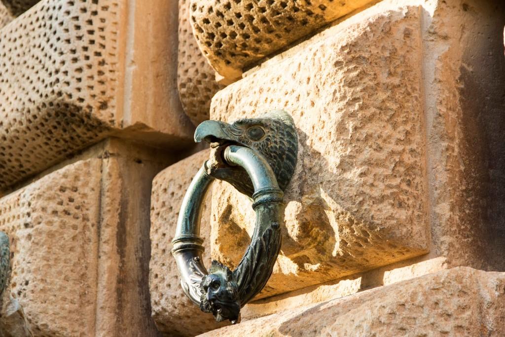 Palais de Charles Quint de l'Alhambra à Grenade