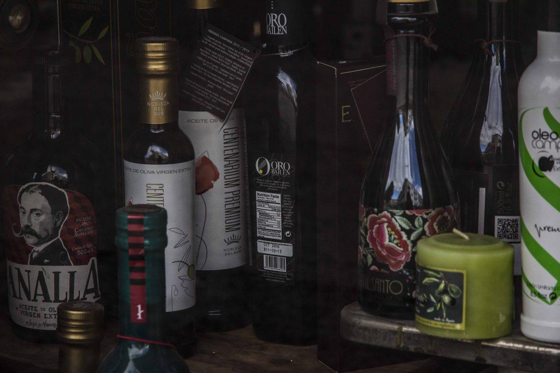 Produits à l'huile d'olive à Baeza