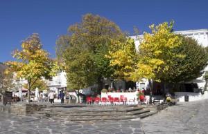 Place de Capileira dans les Alpujarras