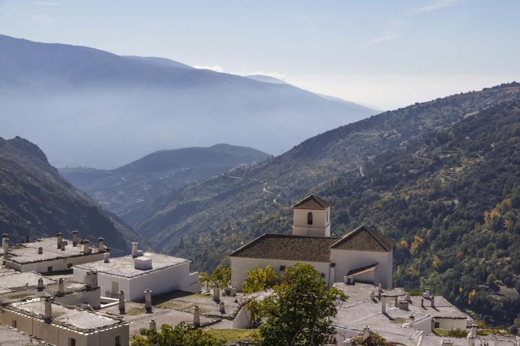 Village de Bubion dans les Alpujarras