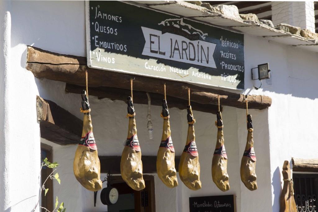 Jambon dans les Alpujarras