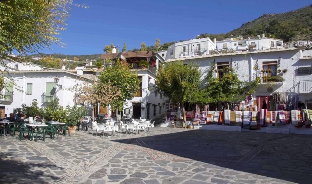 Place de Pampaneira dans les Alpujarras