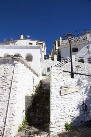 Village blanc de pampaneira dans les alpujarras