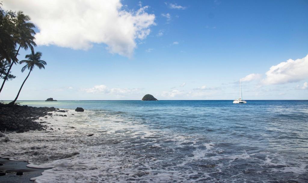 Plage Anse Couleuvre en Martinique