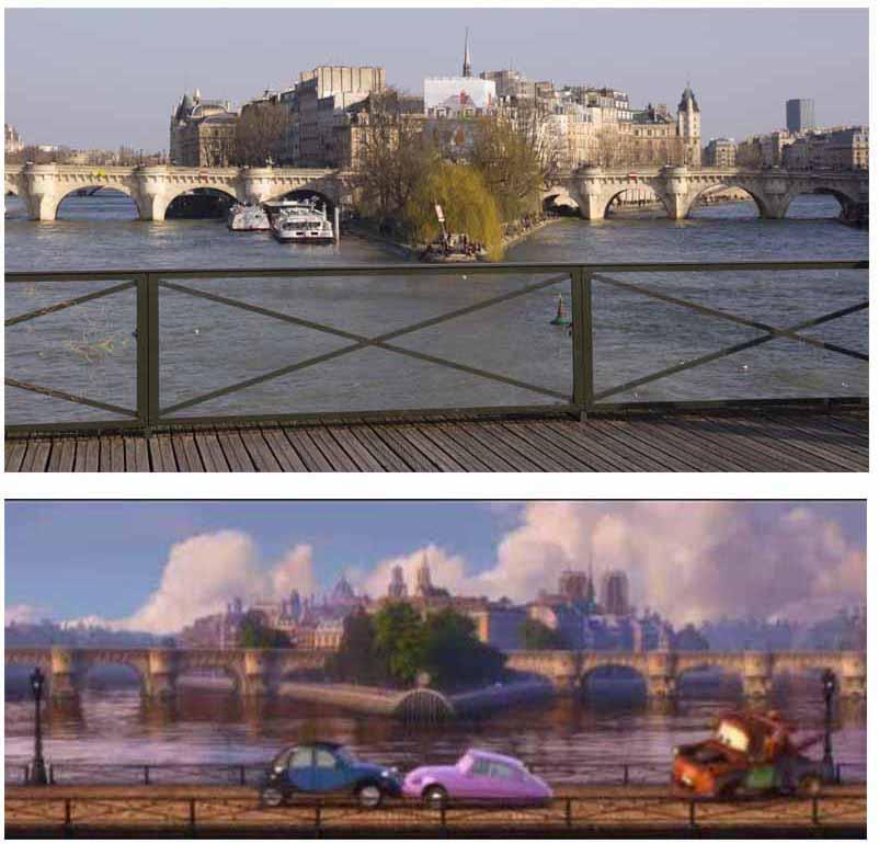 Cinemacity, Cars 2 sur le pont des arts