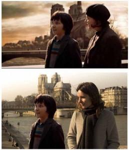 Cinemacity, Hugo Cabret sur le Pont de la Tournelle