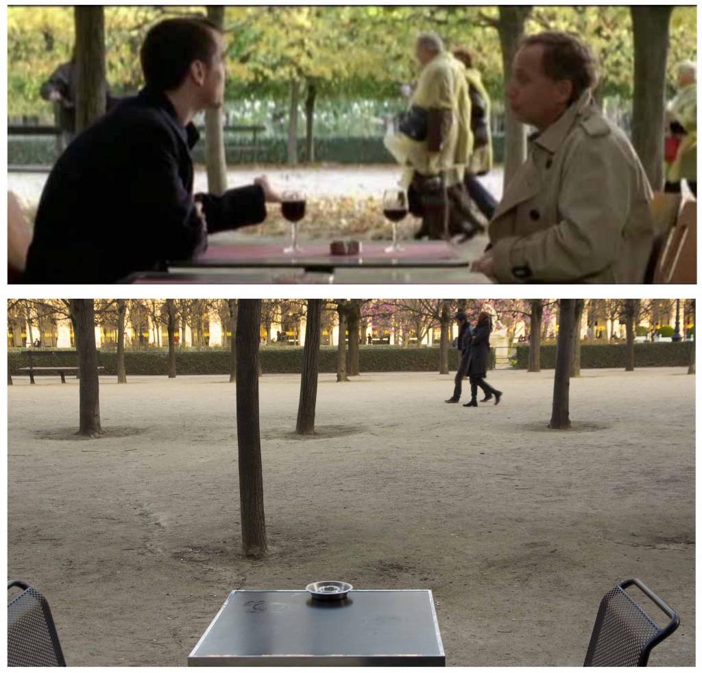 Cinemacity, Paris dans les jardins du Palais royal