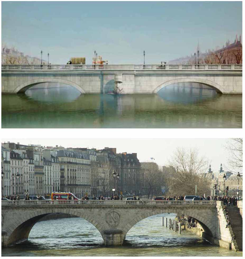 Cinemacity, Un monstre à Paris sur le pont Saint-Michel