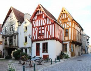 Maisons à pans de bois de Noyers-sur-Serein