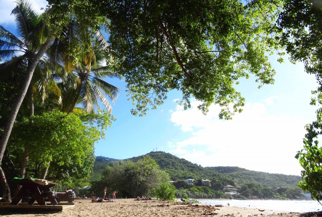 Plage Tartane en Martinique