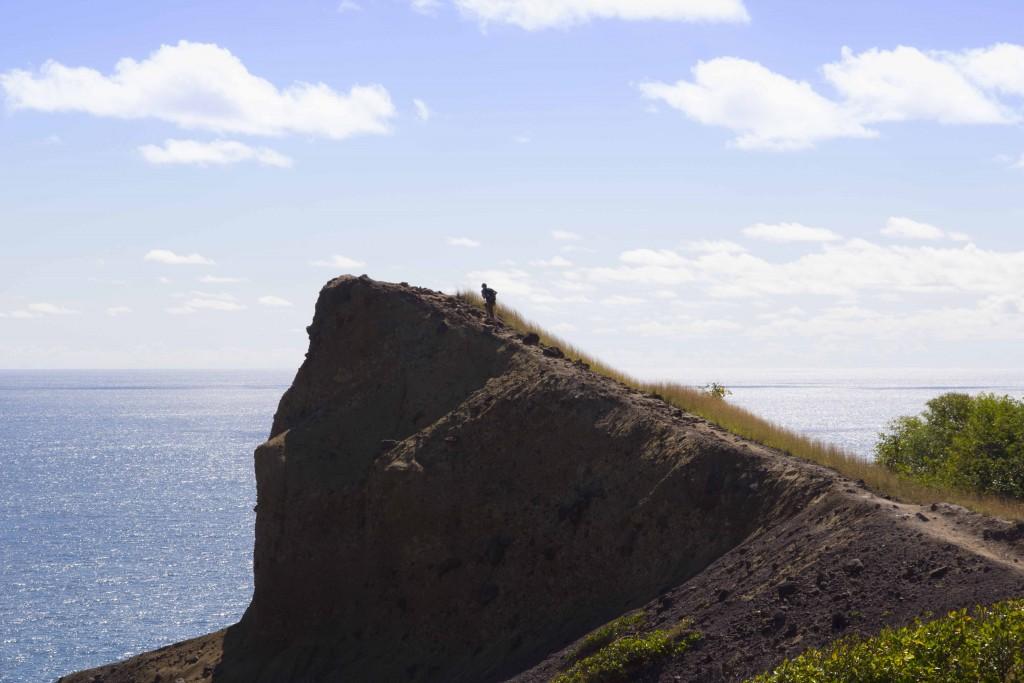 Pointe Carcoli sur la presqu'île de la Caravelle
