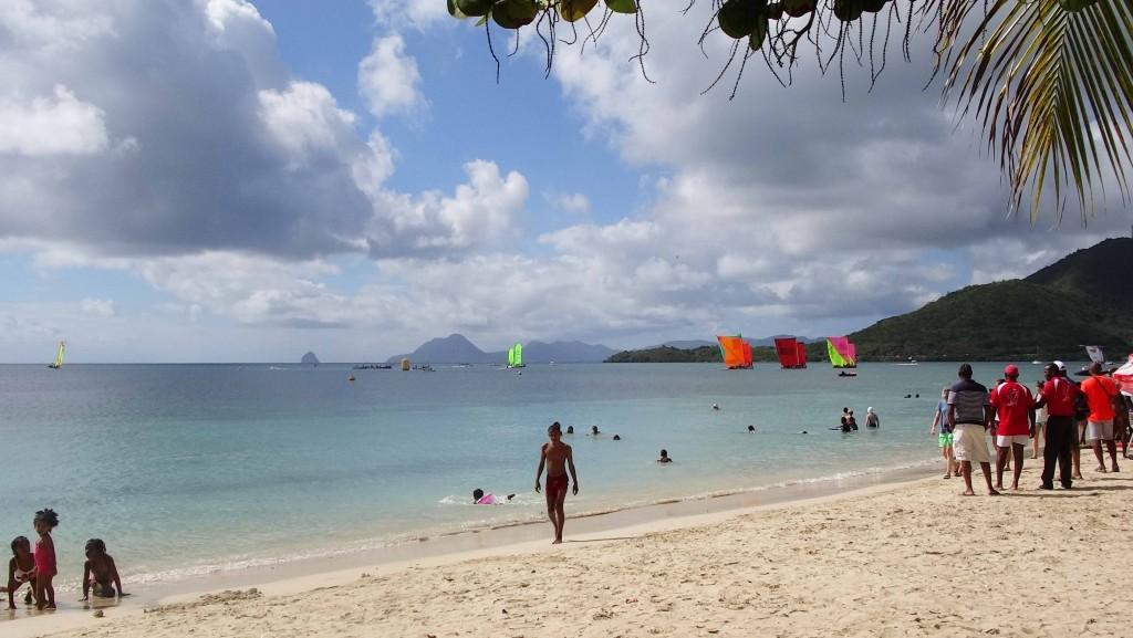 Plage Pointe Marin en Martinique