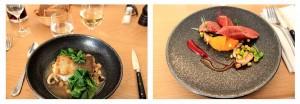 """Plats du restaurant """"Le Soufflot"""" à Irancy"""
