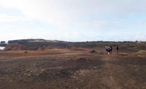 Trail dans la Savane des pétrifications