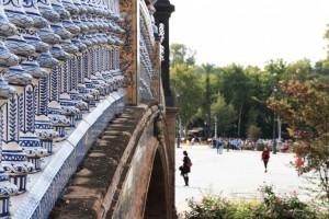 Pont de la place d'Espagne à Séville