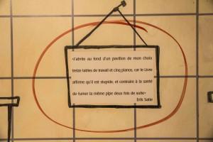Citation de la Maison Satie
