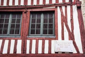 Maison Satie à Honfleur