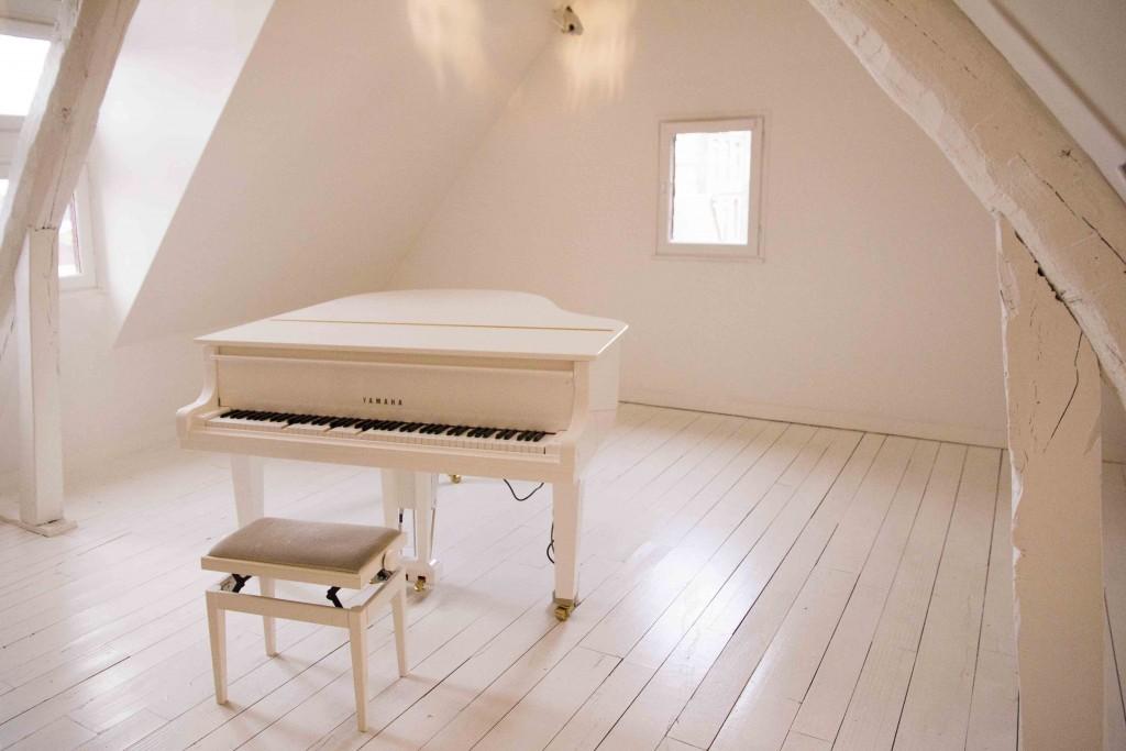 Piano de la Maison Satie