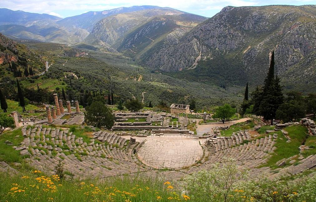 Road Trip en Grèce : Delphes